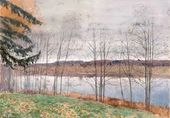 Isaac LEVITAN. Autumn. 1890s