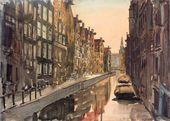 Anna OSTROUMOVA-LEBEDEVA. Amsterdam. 1913