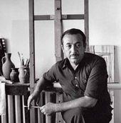 Tair Salakhov in His Studio