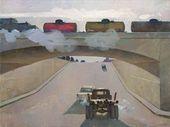 Oil-tank Train. Morning. 1958