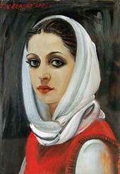 Portrait of Varya. 1985