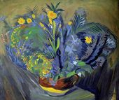 Martiros SARYAN. Flowers of Sambek. 1914
