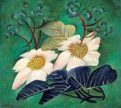 Elena BEBUTOVA. Magnolia. 1922