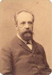 Photographer Abram YASVOIN. Sergei Tretyakov. Albumin print. Еarly 1880s