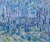 Eduard BRAGOVSKY. Birch Tree Grove. 2003