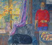 Eduard BRAGOVSKY. Autumn Flowers. 1993