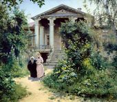 Vasily POLENOV. The Grandma's Garden. 1878