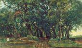 Alexander IVANOV. In the Park of Villa Doria