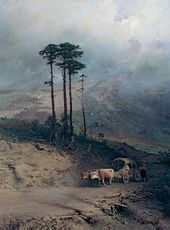 Fedor VASILYEV. In the Crimean Mountains. 1873