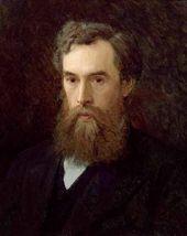 Ivan KRAMSKOY. Portrait of Pavel Tretyakov. 1876