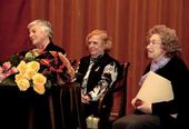 The 2008 Tretyakov award winners: Ida Gofman, Lidya Romashkova and Galina Yushkevich