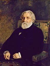 Ilya REPIN. Portrait of Ivan Sergeevich Turgenev. 1874