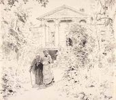 Vasily POLENOV. Grandma's Garden. 1882