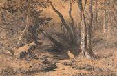 Ivan SHISHKIN. Backwoods. 1870