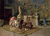Mariano FORTUNY Y CARBO. Print Lovers. 1867