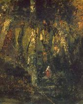Théodore ROUSSEAU. In the Forest of Fontainebleau