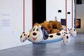 Jeff KOONS. Dogpool (Logs). 2003–2008