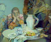 Nadezhda LEBEDEVA. A Dialogue. 1998