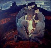 Boris NEMENSKY. Fathers-soldiers. 1971