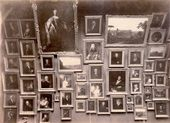 18th century paintings on display in Room 2 at the Tretyakov Gallery. 1898