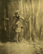 Nijinsky in the Role of the Favorite Slave in ʻPavillon d'Armide'. 1909