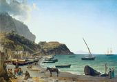 The Big Harbour on the Isle of Capri. 1827–1828