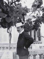 Léon Bakst. Mentone. Photo. 1903