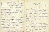 Arthur Selig's letter to Léon Bakst. July 28 1923