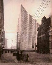 Ludwig Mies van der ROHE. Honeycomb. 1922