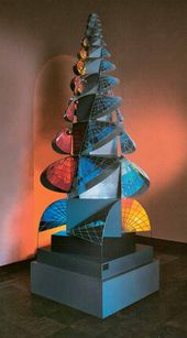 Johannes ITTEN. Tower of Fire. 1920