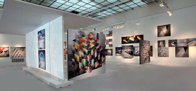 """The exposition of the """"Snow Meridian"""" by Francisco Infante and Nonna Goryunova"""
