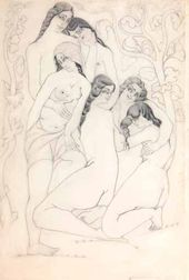 The Bathers. 1921
