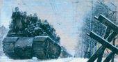 Georgy NISSKY. Leningrad Highway. 1942