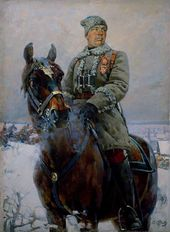 Semyon Timoshenko, Head of a Division of the 1st Cavalry Army. 1928