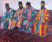 Bukhara Jews. 1926