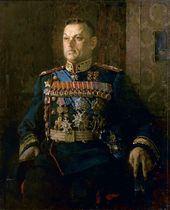 Portrait of Konstantin Rokossovsky. 1946