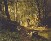 A Walk in the Forest. 1869