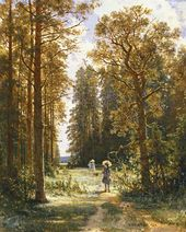 A Path in the Forest. 1880