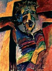 Aristarkh LENTULOV. The Crucifixion. 1910