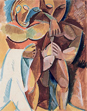 Friendship (II). Study for a painting. 1908