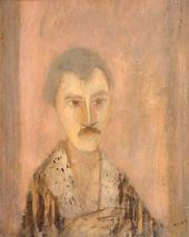 Self-portrait. 1948. © Zoran Antonio Mušič - by SIAE. 2009