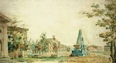 Fyodor ALEXEEV. A Square in Kherson. 1796–1797