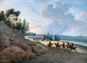 Andrei MARTYNOV. Baltic Coast. A Cavalcade. 1810–1811