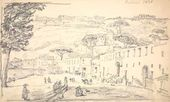 Alexei MARKOV. View of Posillipo. 1836