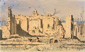 Vasily VERESHCHAGIN. Ruins of a Temple in Tacheng. 1869–1870