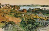 Alexandre BENOIS. Seaside. Primelle. 1905