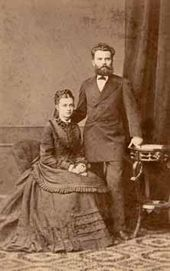 John Kirkaldi and his wife