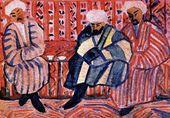 Mikhail GAYDUKEVICH. Three Uzbeks. 1925