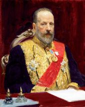 Ilya REPIN. Portrait of Sergei Witte. 1901–1903