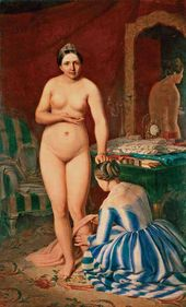 Alexei VENETSIANOV. Diana Dressing. 1847